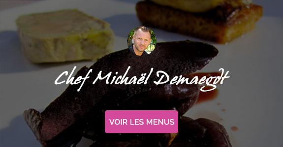 Michaël Demaegdt, chef à domicile sur Aix-en-Provence