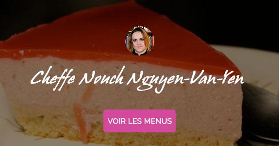 Nouch Nguyen Van-Yen, chef à domicile sur Toulouse, cours de cuisine sans gluten