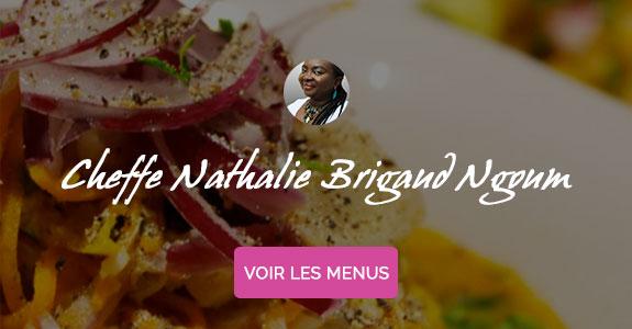 Nathalie Brigaud Ngoum, chef à domicile sur Paris, cours de cuisine sans gluten à domicile