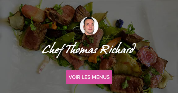 Thomas Richard, chef à domicile sur Aix-en-Provence