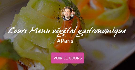 Yann Louvel, chef à domicile sur Paris, cours de cuisine vegane