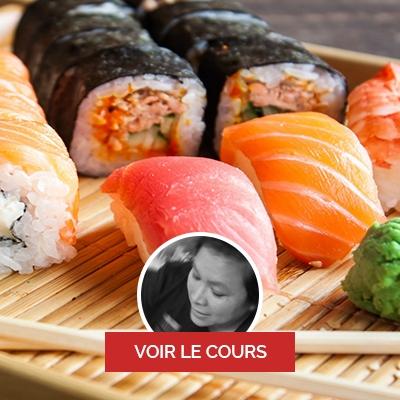 Mai Lamy, chef à domicile sur Paris, cours de sushi