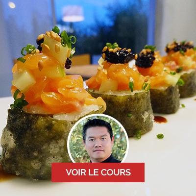 Heimana Yi, chef à domicile sur Saint-Paul, cours de sushi