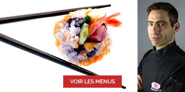 Mathieu Abribat, chef à domicile sur Paris, cours de sushi